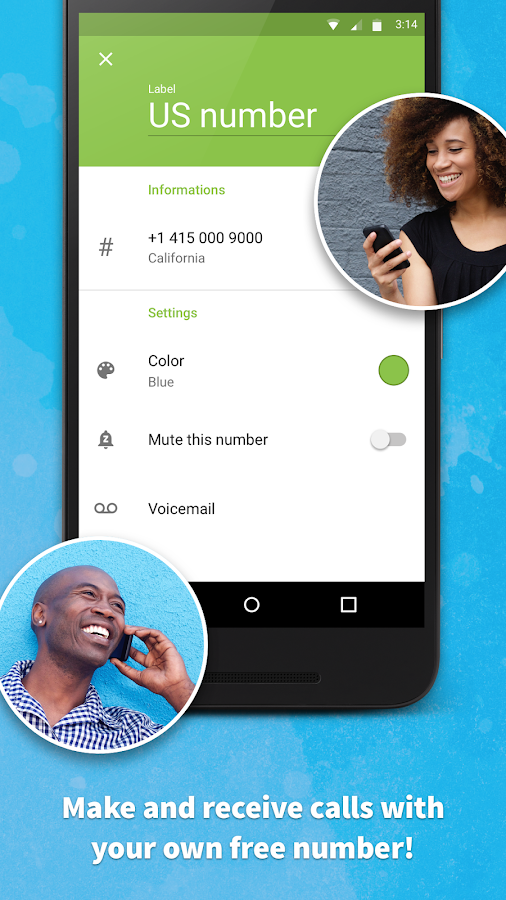 Screenshots of Text Me - Free Texting & Calls for iPhone