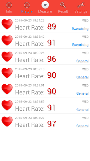 Heart Rate Monitor screenshot