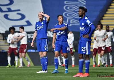 Premier League : grosse désillusion pour Leicester et Tielemans, Benteke reste muet face à Fulham