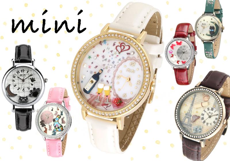 mini 猫 腕時計