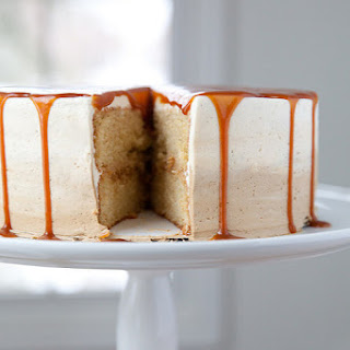Vanilla Caramel Latte Cake.