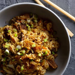 Scallion Fried Rice.