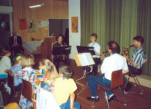 Photo: Juli1992 - der erste Auftritt