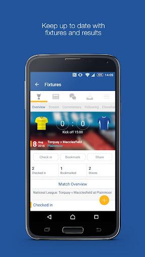 Fan App for Macclesfield FC