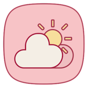Pink Weather Icons For Chronus Apk Download Apkpure Ai