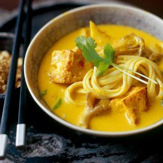 Malaysian-Spiced Noodles with Tofu Recipe