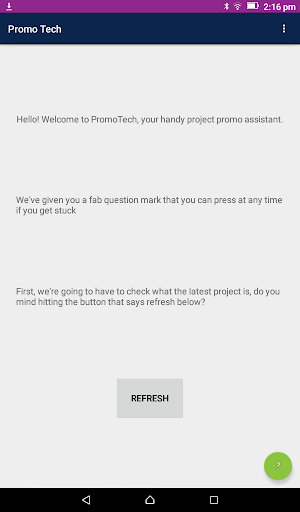 PromoTech screenshot 1