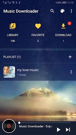 Mp3 Music Download & Free Music Downloader screenshot 1