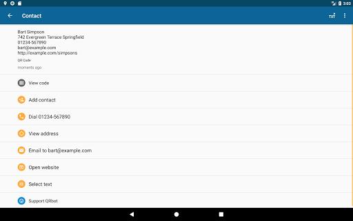 QRbot: QR code reader and barcode reader  screenshots 10
