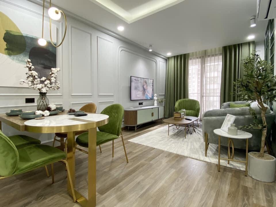 Mẫu thiết kế nội thất cho những gia chủ yêu màu xanh - Ảnh 2