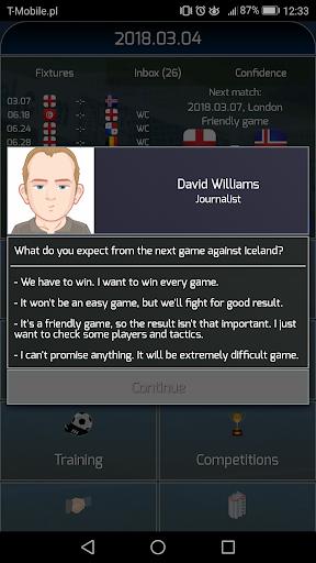 True Football National Manager 1.5.4 screenshots 2