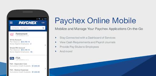 benefits paychex com login