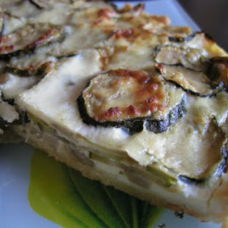 Fennel & Zucchini tart