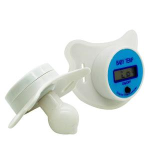 Suzeta termometru + Termometru digital