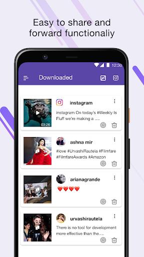 Video Downloader for Instagram & Save photos screenshot 1