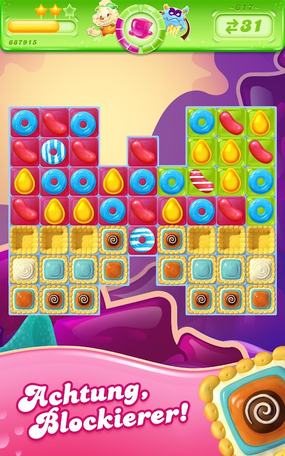 Candy Crush Jelly Saga – Screenshot