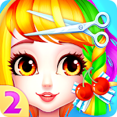 Magical Hair Salon 2:Girl Makeover & Dress up