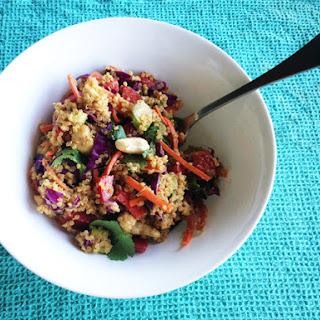 Asian Cashew Quinoa Salad.