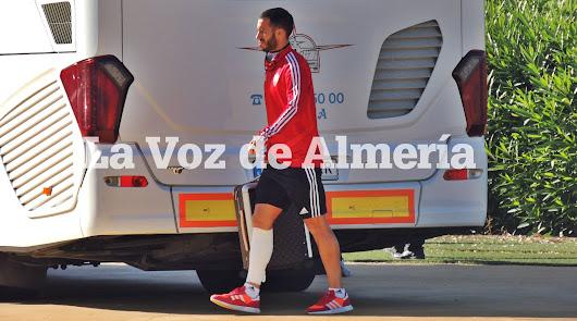 El Almería pasa la 5ª ronda de los test de la Liga antes de entrenar en el Anexo