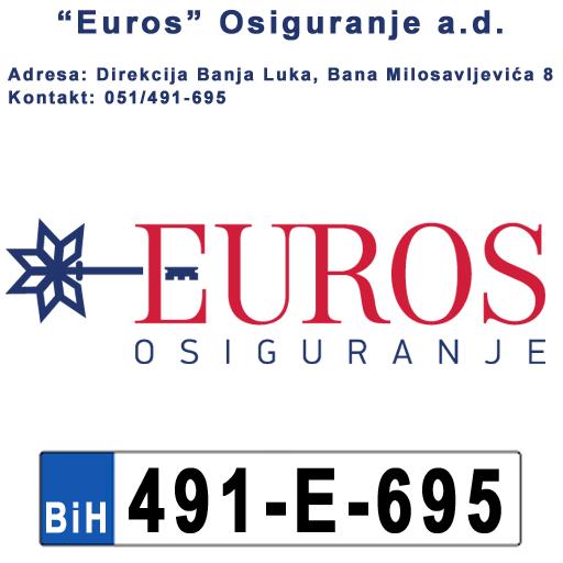 SatEUROS-Registracija vozila