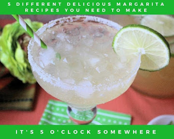 5 Different Delicious Margaritas You Need To Make Recipe