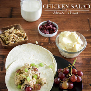 Walnut, Grape, and Chicken Salad