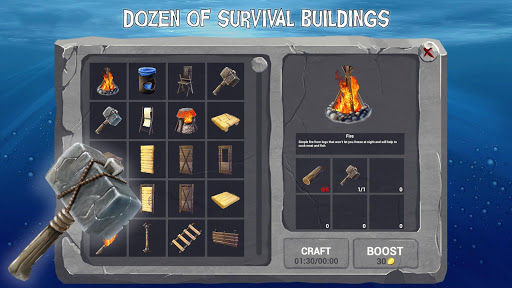 Raft Survival Ark Simulator 1.0.14 screenshots 3