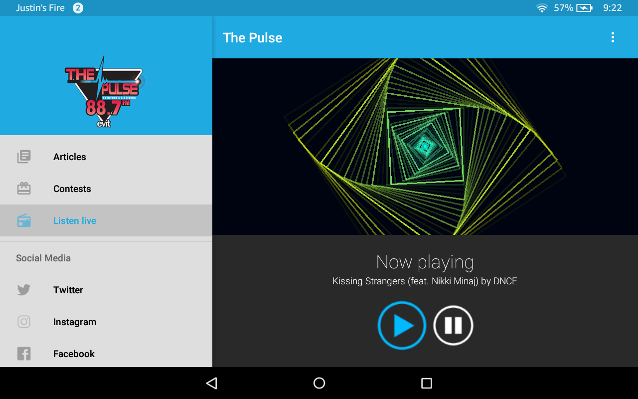 88.7 The Pulse- screenshot