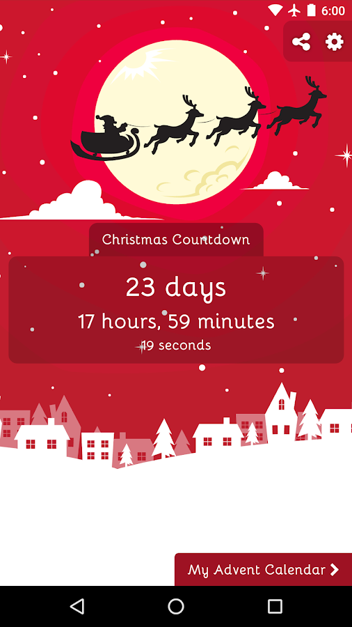 christmas countdown 2017 android apps on google play christmas countdown 2017 screenshot