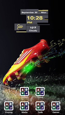 android Fashion Shoes Sports Screenshot 2