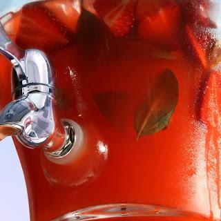 Strawberry-Basil Lemonade.