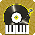 Dj Mixer&Virtual Electro Piano icon