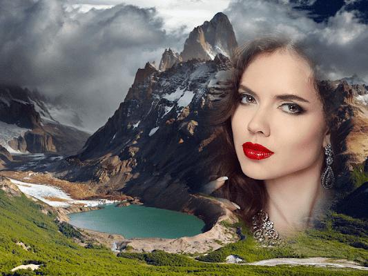 Mountain Photo Frame - screenshot