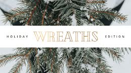 Holiday Edition Wreaths - Winter Holiday item