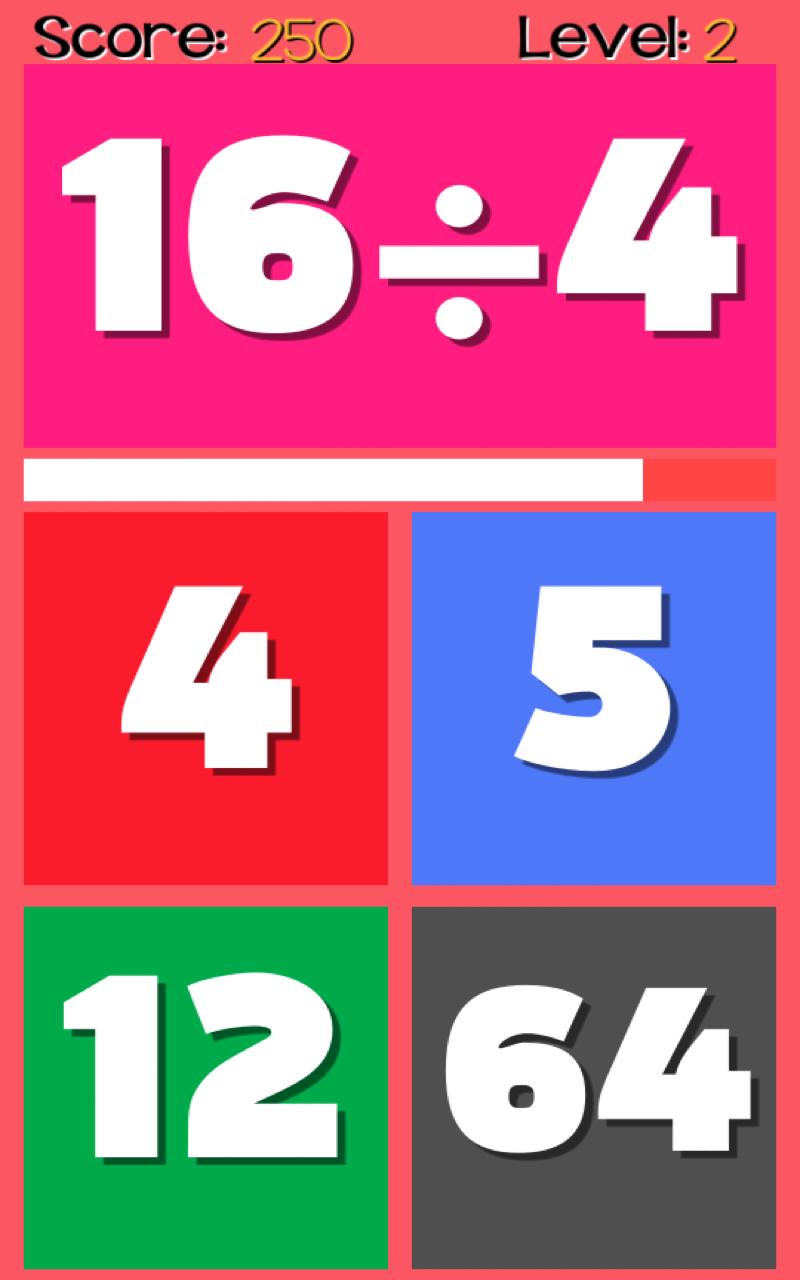Скриншот Chaotic Math: Division