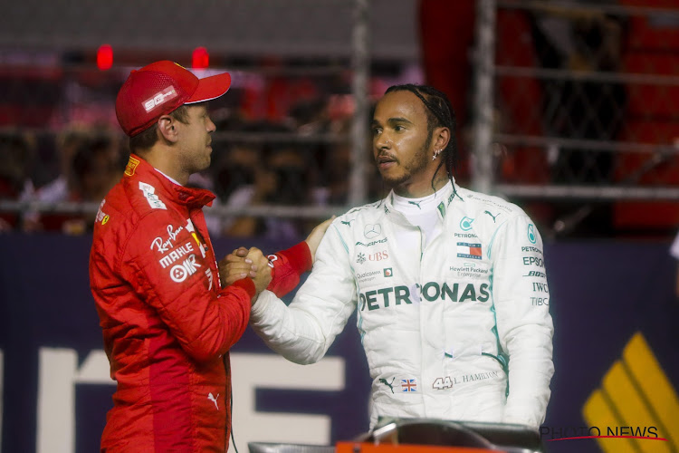 Grote baas Mercedes vindt geruchten over Hamilton en Ferrari niet al te erg