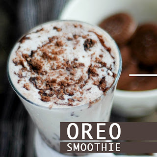 Oreo Cookie Smoothie Recipes.