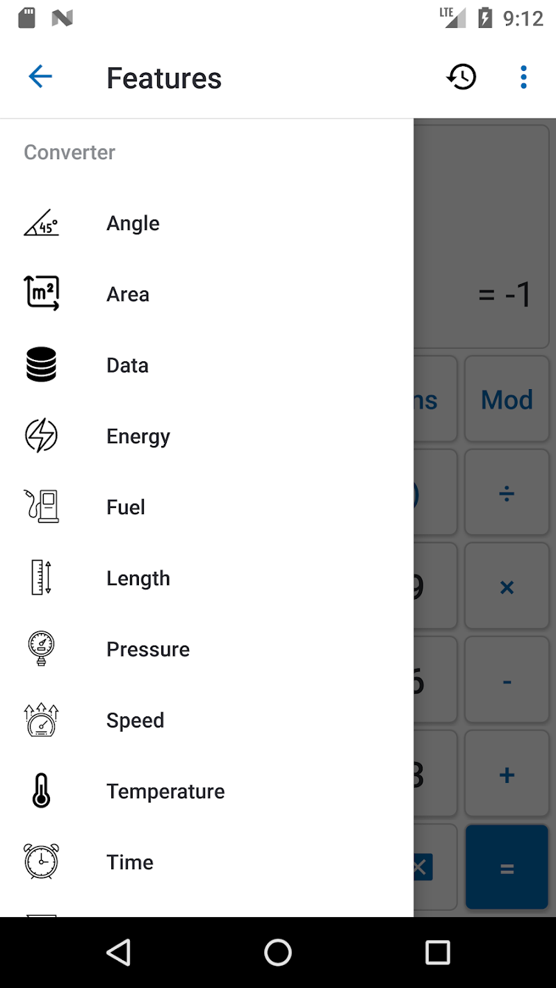 NT Calculator - Extensive Calculator Pro Screenshot 2