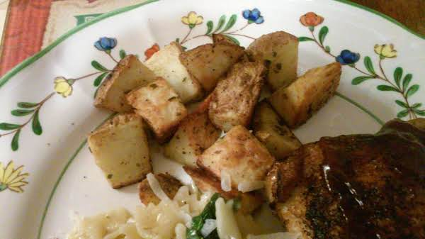 Roasted Curry Potatoes Recipe