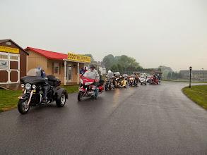 Photo: A rainy start on thursday