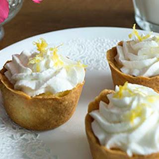 Lemon Curd Tartlets.