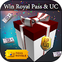 Daily Free UC Cash & Battle Points and Royal Pass icon