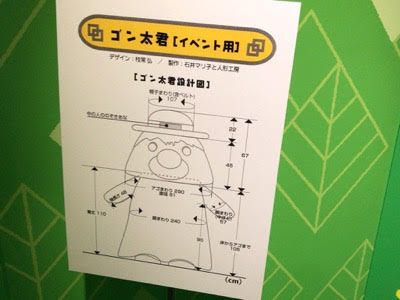 NHK放送博物館「できるかな」「ゴン太君」設計図