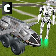تحلق شاحنة الروبوت