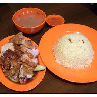 Chicken Rice Burrito.