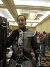 Photo: Klingon necktie fashions?!