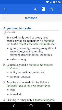 Dictionary - WordWeb 3.2 screenshot 222885
