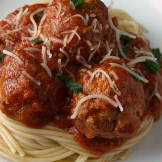 Crock Pot Italian Meatballs.
