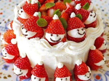Strawberry Santa Recipe