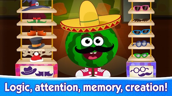 FUNNY FOOD 2! Educational Games for Kids Toddlers! - náhled